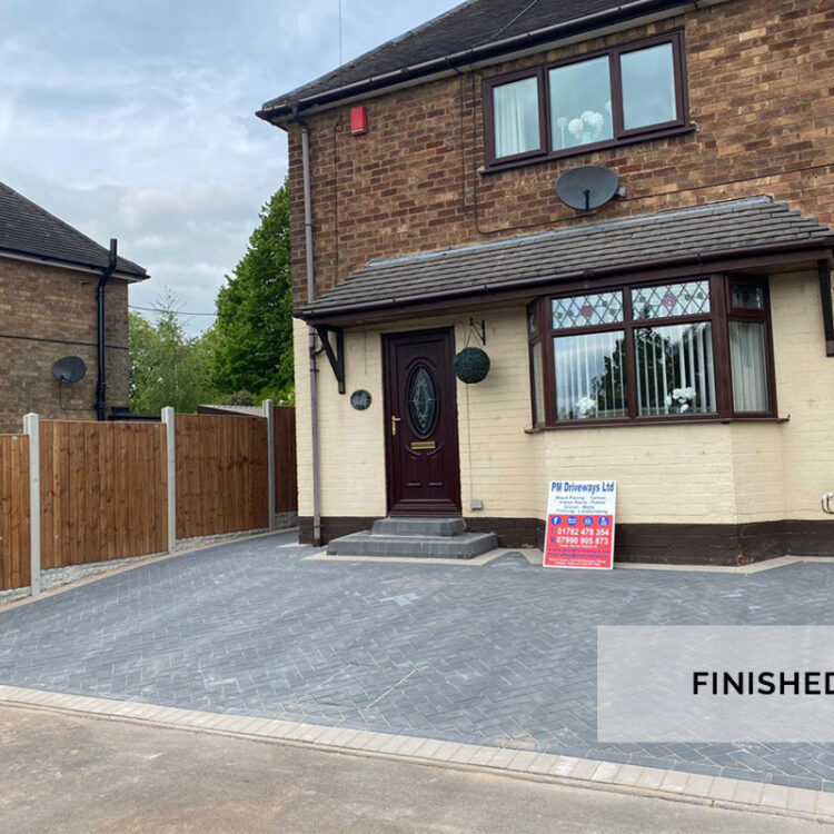 New Driveway - Silverdale, Newcastle-under-Lyme