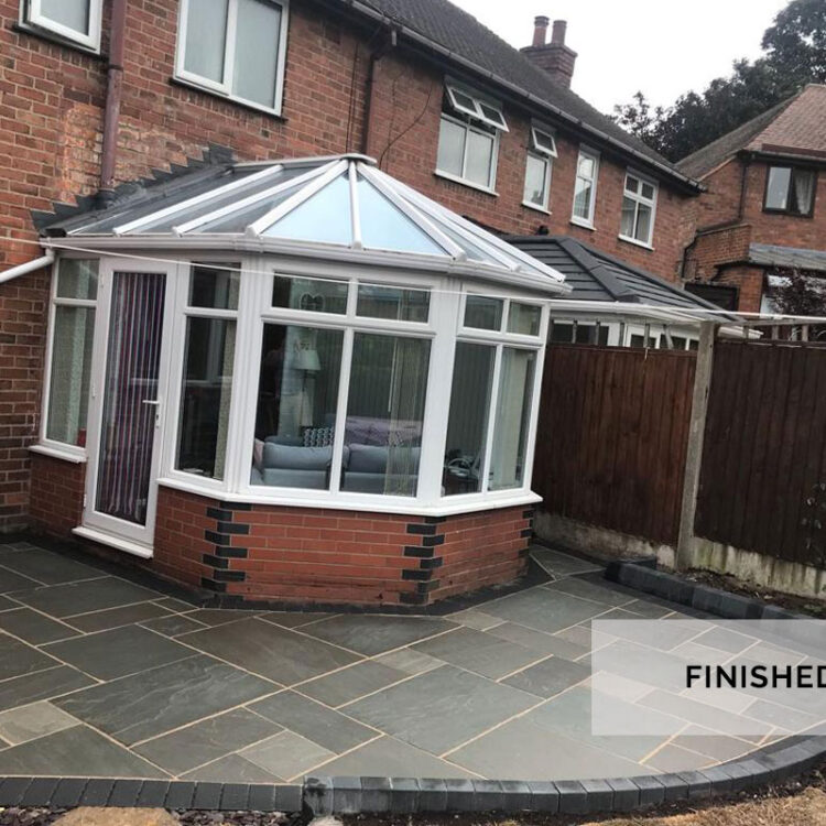 NEW PATIO - PACKMORE